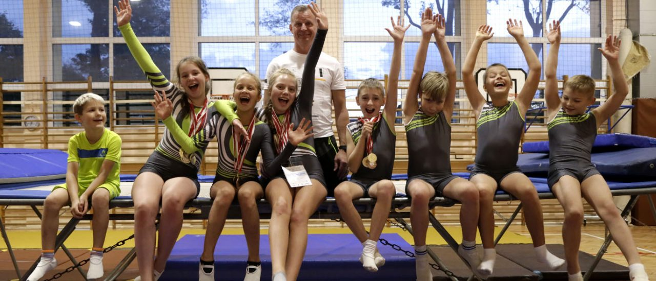 We win medals